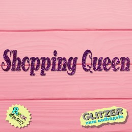 Glitter bow picture Shopping Queen