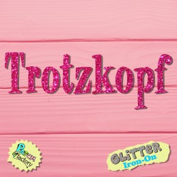 Glitter bow picture Trotzkopf