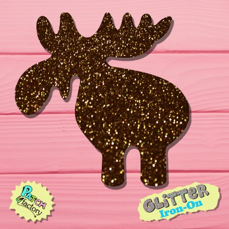 Glitter Bow Picture Elk