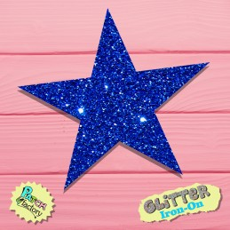 Ironing picture Glitter Star small
