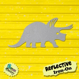 Bow picture Dinosaur Triceratops reflective