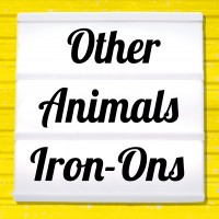 Reflective iron-on pictures category other animal motifs